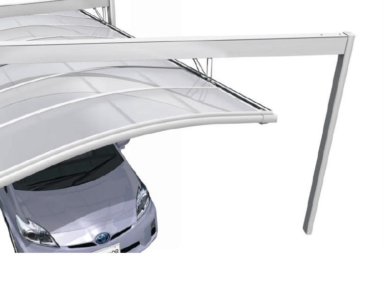 敷地や建築条件に合わせた組み合わせが可能なカーポート3