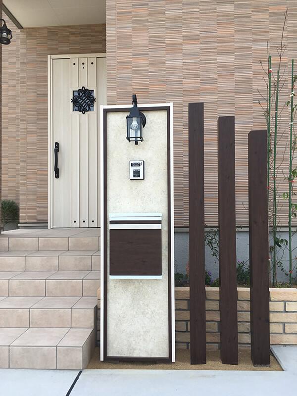 タカショー エバーアートボード門柱